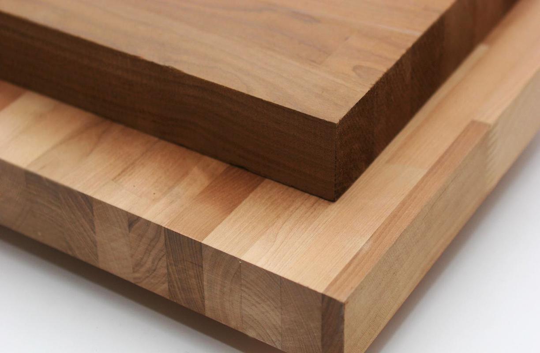 Мебельные щиты из дуба и ясеня, производство и применение