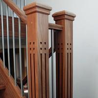 Столбы для деревянной лестницы