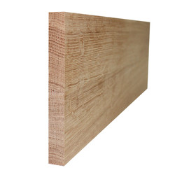 Подступенник из дуба для лестниц (без покрытия) 1000х200х20 мм
