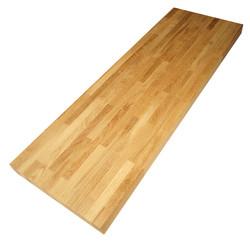 Сращенный мебельный щит из дуба первого сорта 3200х625х120 мм