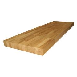 Сращенный мебельный щит из дуба первого сорта (BC) 3200х625х12 мм