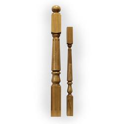 Кен-N7461 балясина из дуба 60 х 60 мм для деревянных лестниц