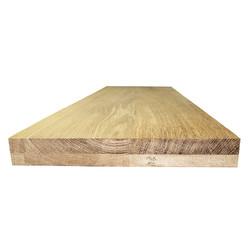 Цельноламельный мебельный щит из дуба первого сорта (BC) 2000х620х40 мм