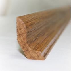 Ласточкин хвост - плинтус из дуба 48х30 мм