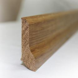 Сапожок - плинтус из дуба 60х18 мм