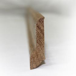 Сапожок - плинтус из ясеня 60х18 мм