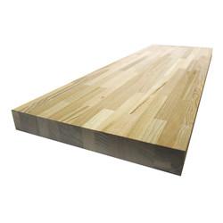 Сращенный мебельный щит из ясеня первого сорта (BC) 3200х625х12 мм