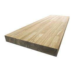 Сращенный мебельный щит из ясеня высшего сорта (AB) 3200х625х12 мм