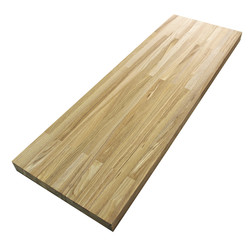 Сращенный мебельный щит из ясеня высшего сорта (AB) 3200х625х40 мм