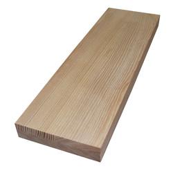 Цельноламельный мебельный щит из ясеня высшего сорта (AB) 2000х620х50 мм