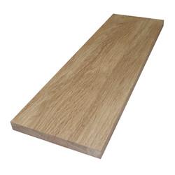 Цельноламельный мебельный щит из дуба первого сорта (BC) 2000х620х20 мм
