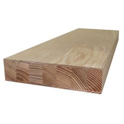 Фанерованный мебельный щит из ясеня высшего сорта (AB) 2500х620х40 мм