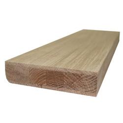 Фанерованный мебельный щит из дуба первого сорта (BC) 2500х620х40 мм